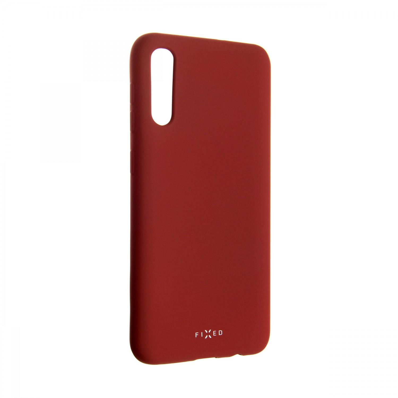 Zadní kryt FIXED Story pro Samsung Galaxy A50, červený