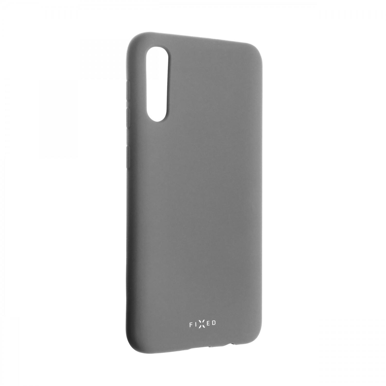 Zadní kryt FIXED Story pro Samsung Galaxy A50, šedý