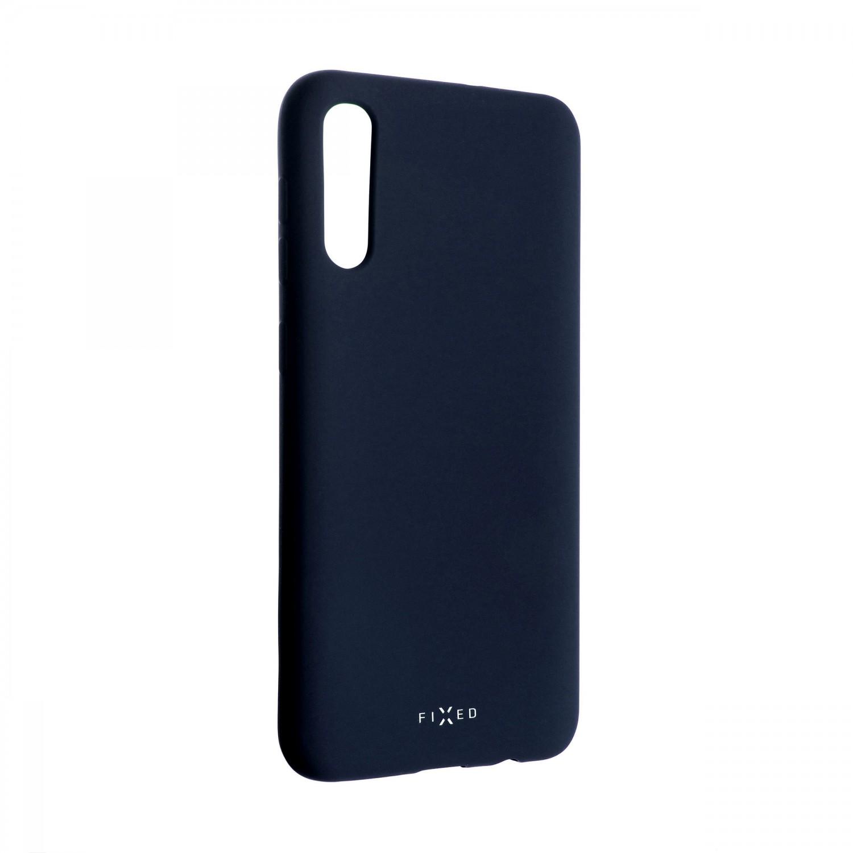 Zadní kryt FIXED Story pro Samsung Galaxy A50, modrý