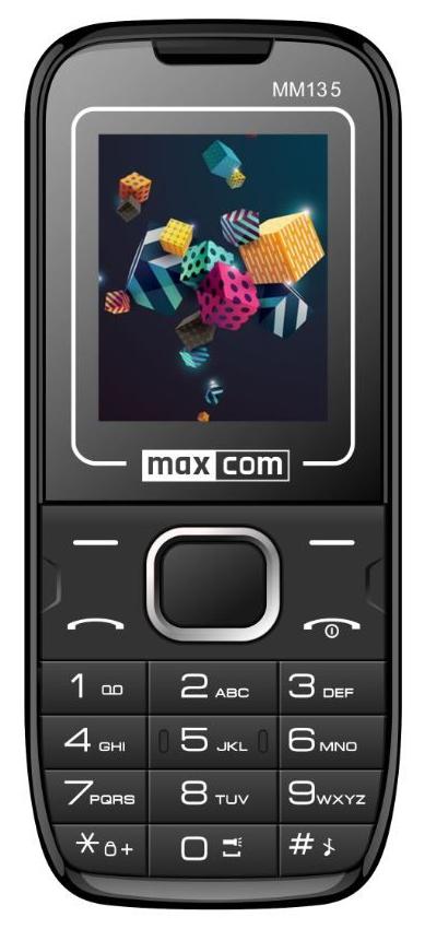 Maxcom MM135 modrá