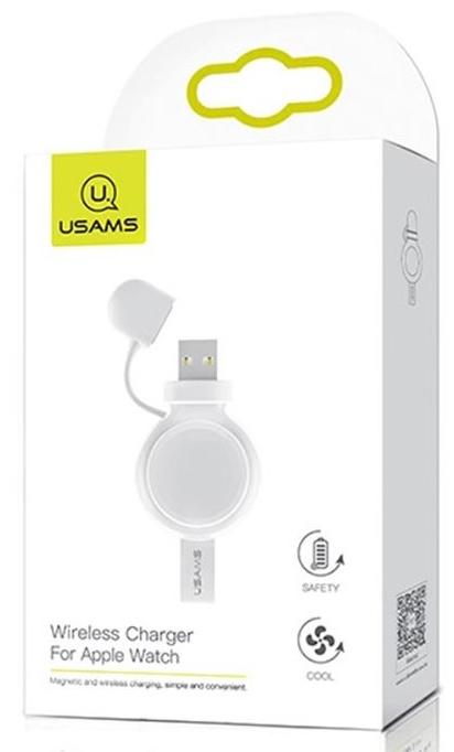 Bezdrátová nabíječka pro Apple Watch USAMS CC061 bílá