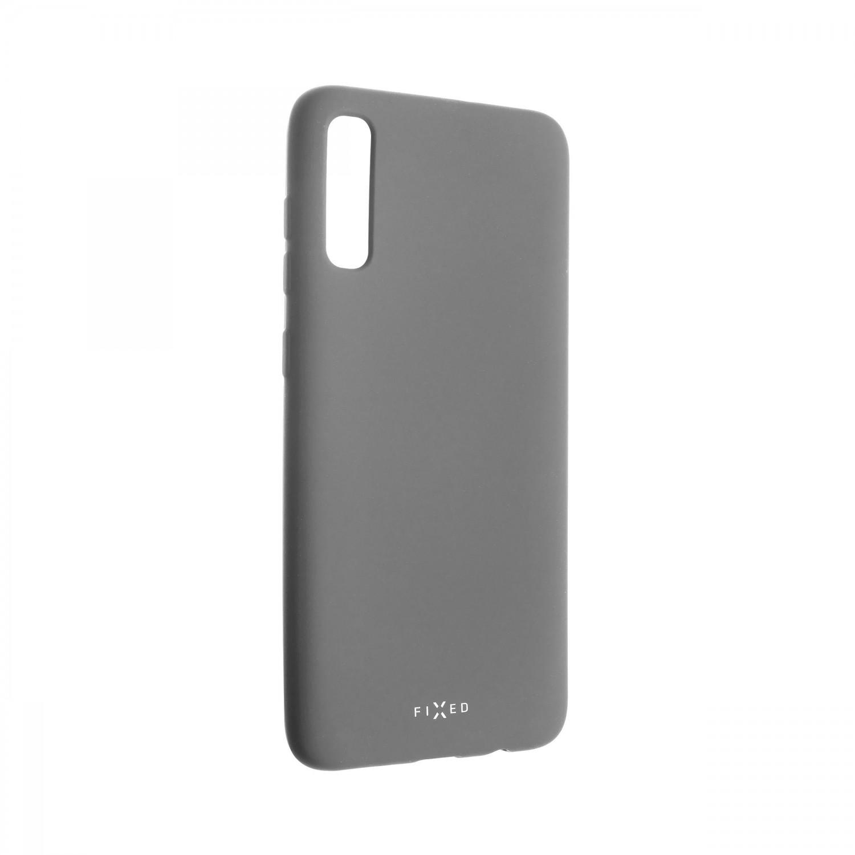 Zadní kryt FIXED Story pro Samsung Galaxy A70, šedý