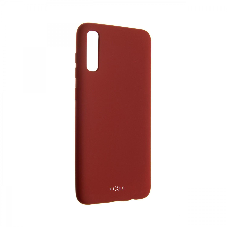 Zadní kryt FIXED Story pro Samsung Galaxy A70, červený