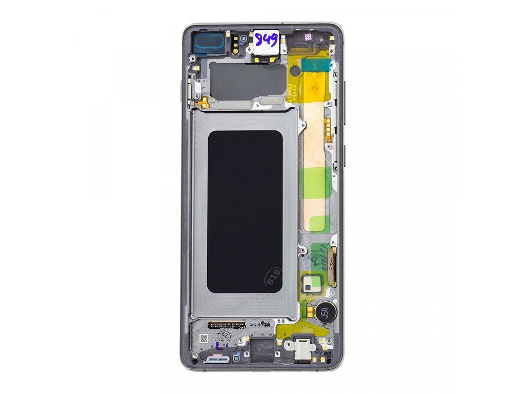 LCD + dotyk pro Samsung Galaxy S10, white ( Service Pack )