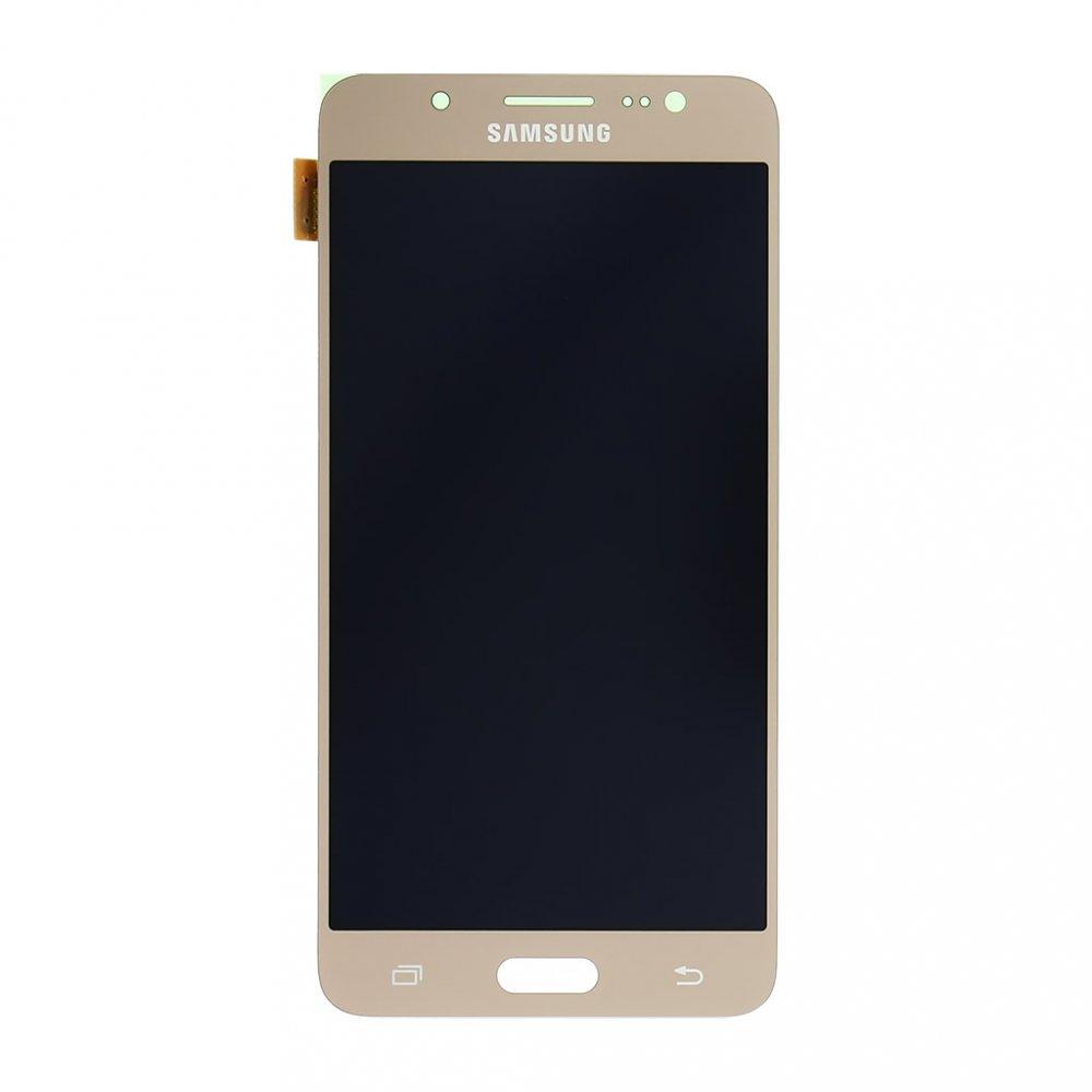 LCD + dotyk pro Samsung Galaxy J5 2016, gold ( Service Pack )