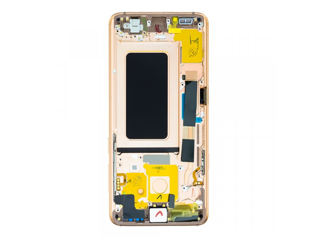 LCD + dotyk pro Samsung Galaxy S9, gold ( Service Pack )