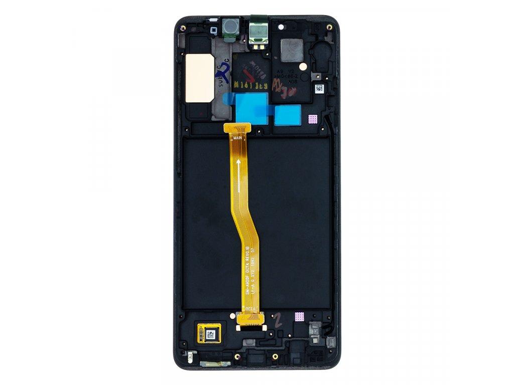 LCD + dotyk pro Samsung Galaxy A9 2018, black ( Service Pack )