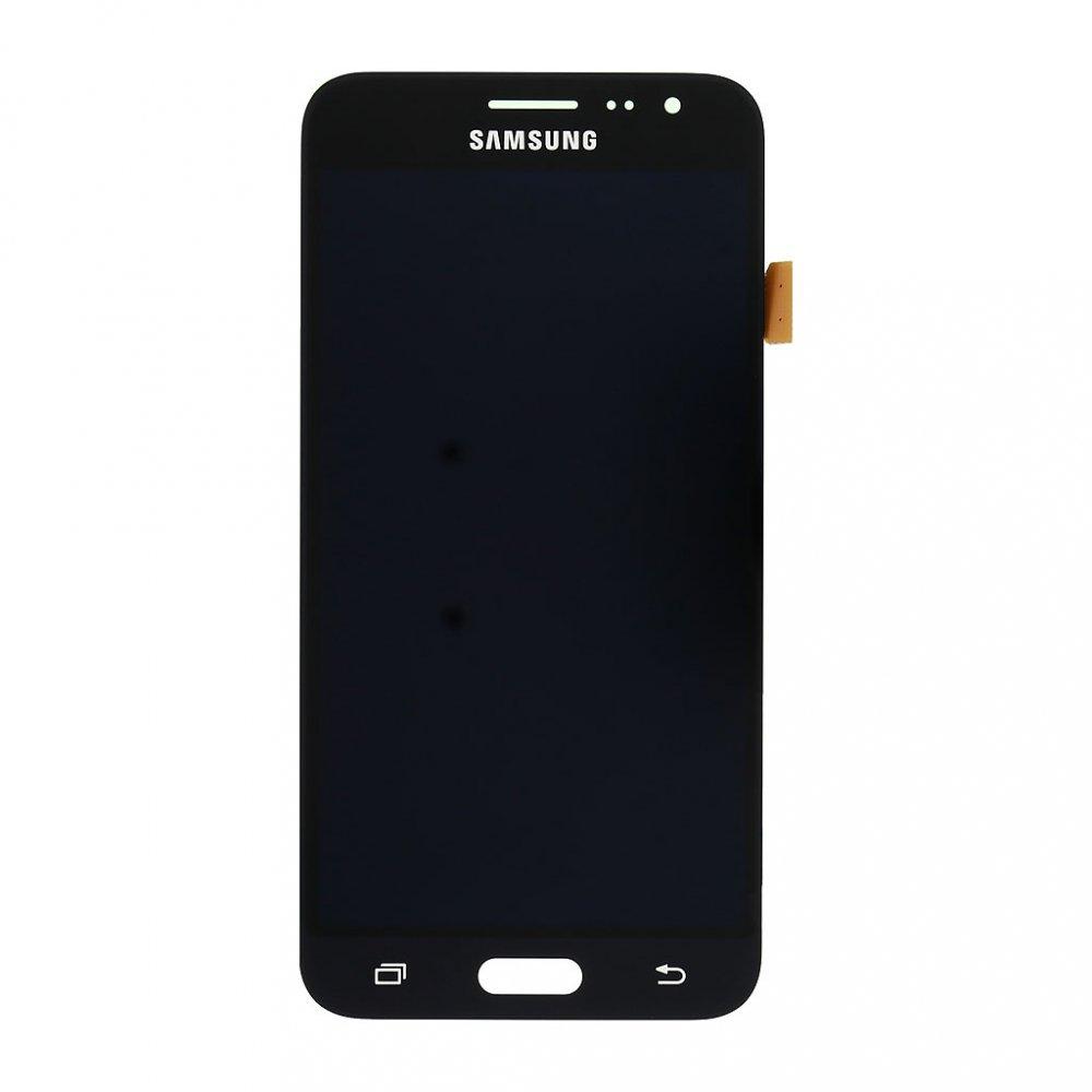 LCD + dotyk pro Samsung Galaxy J3 2016, black ( Service Pack )