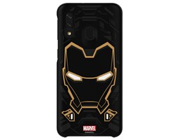 Zadní kryt Galaxy Friends x MARVEL Iron Man pro Samsung Galaxy A40, black