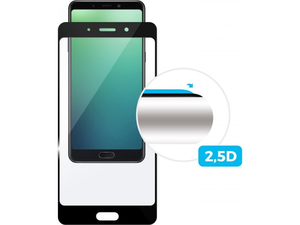 Tvrzené sklo FIXED Full-Cover pro Asus Zenfone Max M1 (ZB555), černá