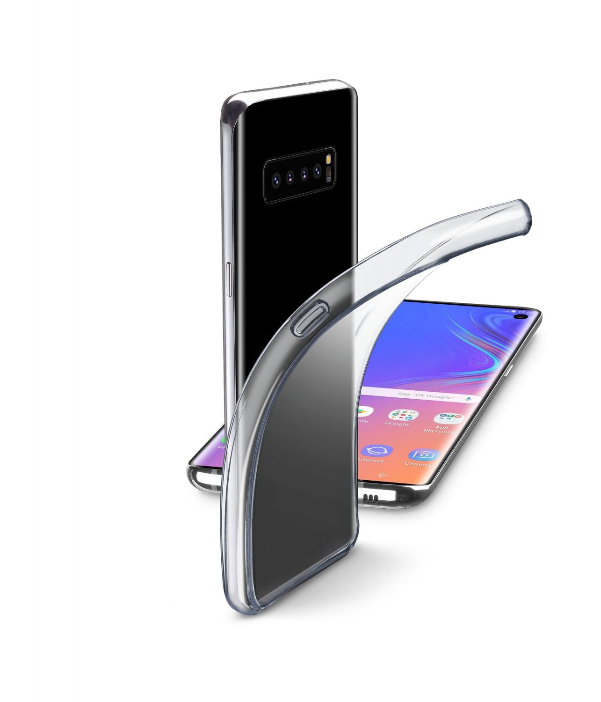 CellularLine Fine zadní kryt pro Samsung Galaxy S10+, bezbarvý