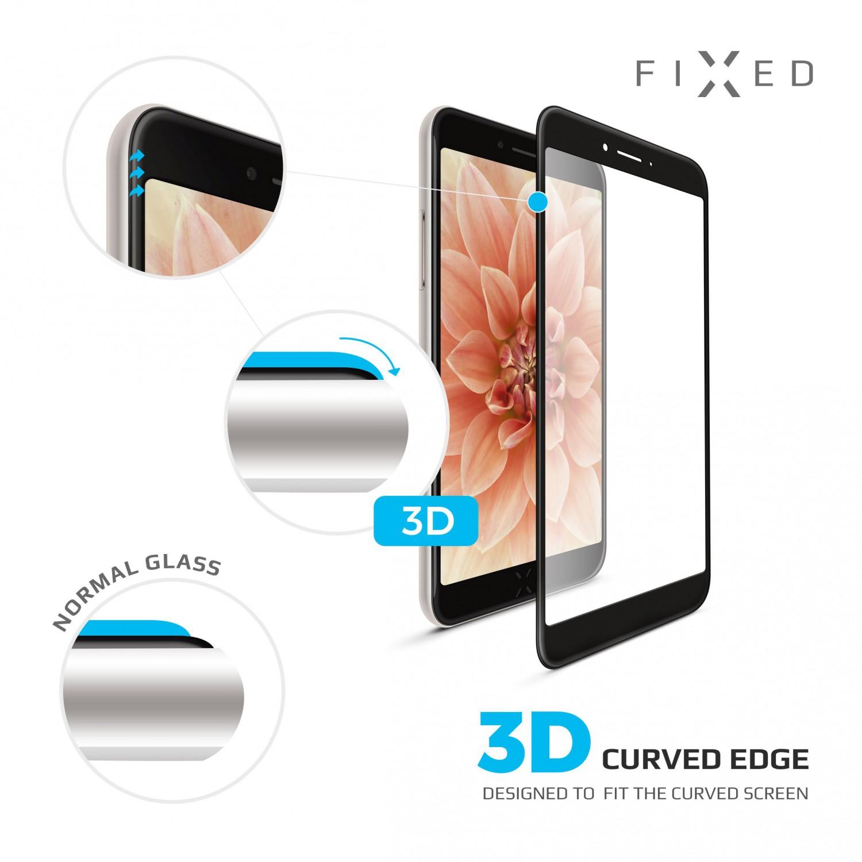 Tvrzené sklo FIXED Full-Cover 3D pro Huawei P30 Lite, black