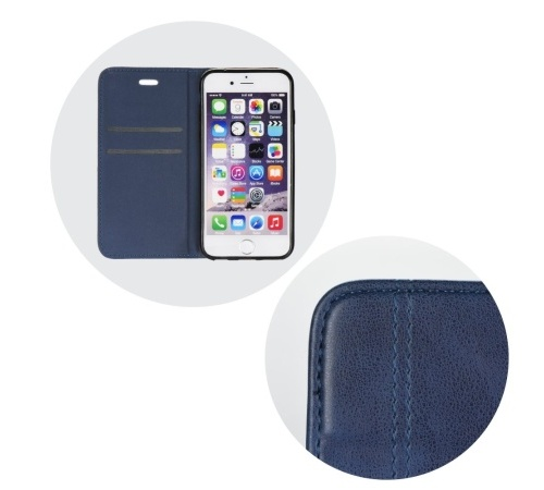Forcell Prestige flipové pouzdro pro Apple iPhone XR, modré