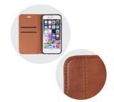 Forcell Prestige flipové pouzdro pro Apple iPhone XR, hnědé