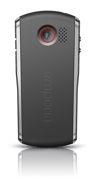 Emporia Pure černá/stříbrná