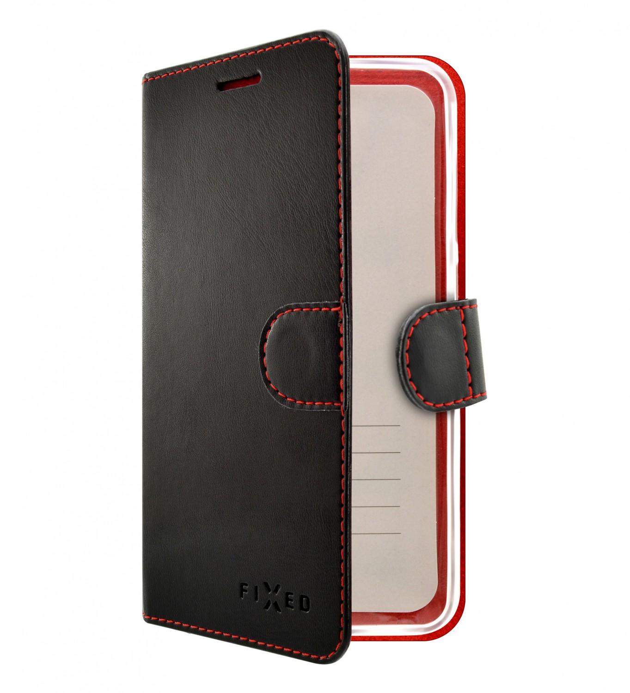 FIXED FIT flipové pouzdro pro Samsung Galaxy A50, černé