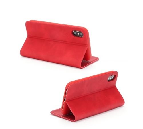 Forcell SILK flipové pouzdro pro Apple iPhone XR, červené