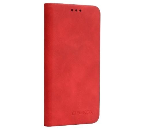 Forcell SILK flipové pouzdro pro Apple iPhone XS, červené