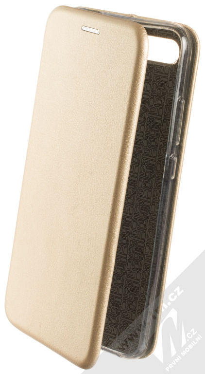 Flipové pouzdro Forcell Elegance pro Samsung Galaxy J6+, gold