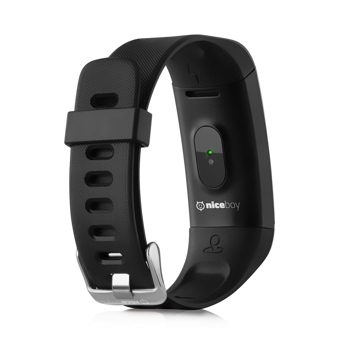Chytrý náramek Niceboy® X-fit GPS černá