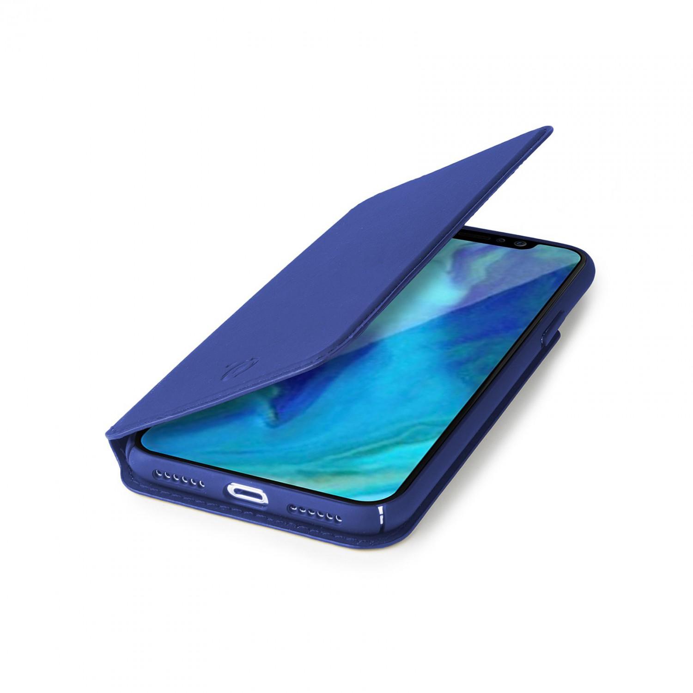 CELLY Prestige flipové pouzdro pro Apple iPhone XR, modré