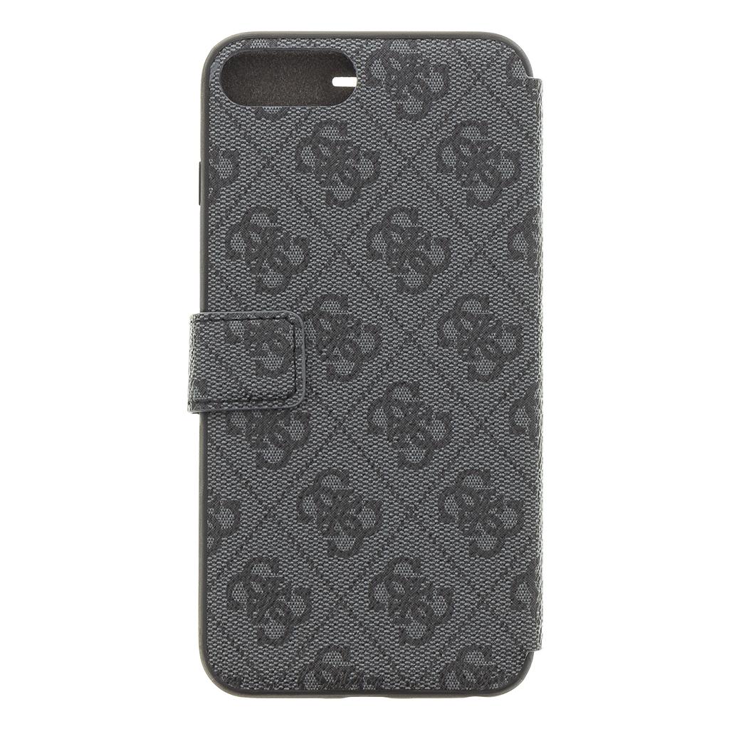 Guess Charms 4G pouzdro flip GUFLBKI8L4GG pro Apple iPhone 7/8 Plus grey