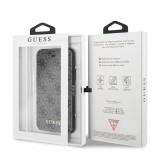 Guess Charms 4G pouzdro flip GUFLBKI84GG pro Apple iPhone 7/8 grey