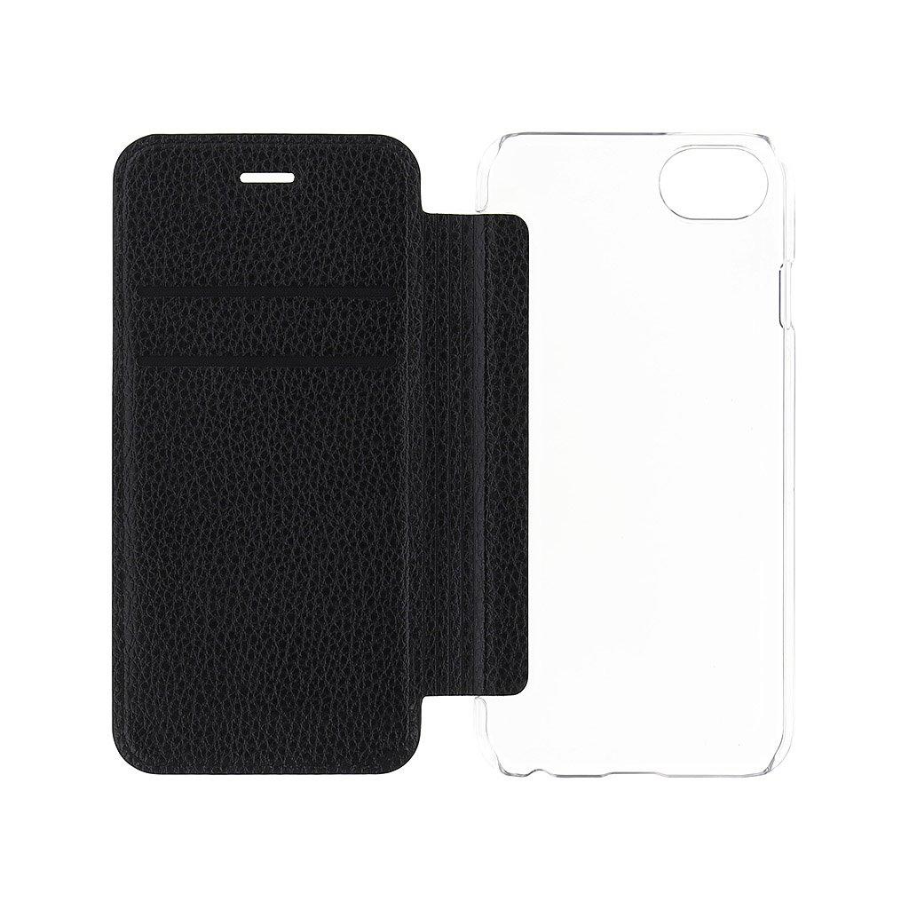 Guess IriDescent pouzdro flip GUFLBKI8IGLTBK pro Apple iPhone 7/8 black