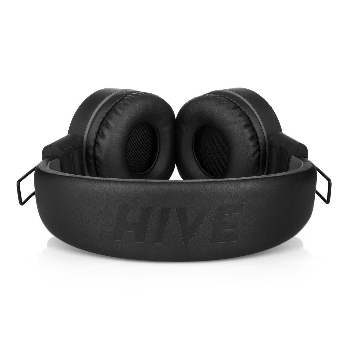 Bezdrátová sluchátka Niceboy HIVE tmavě černá
