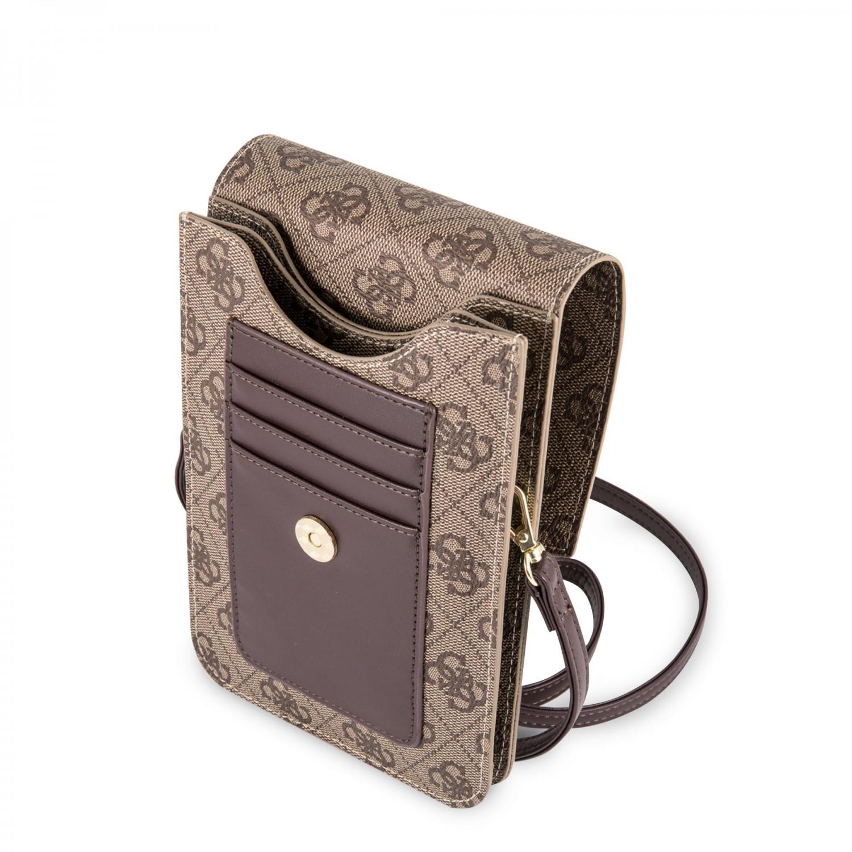 Guess 4G Wallet GUWBSQGBE Universal pouzdro beige