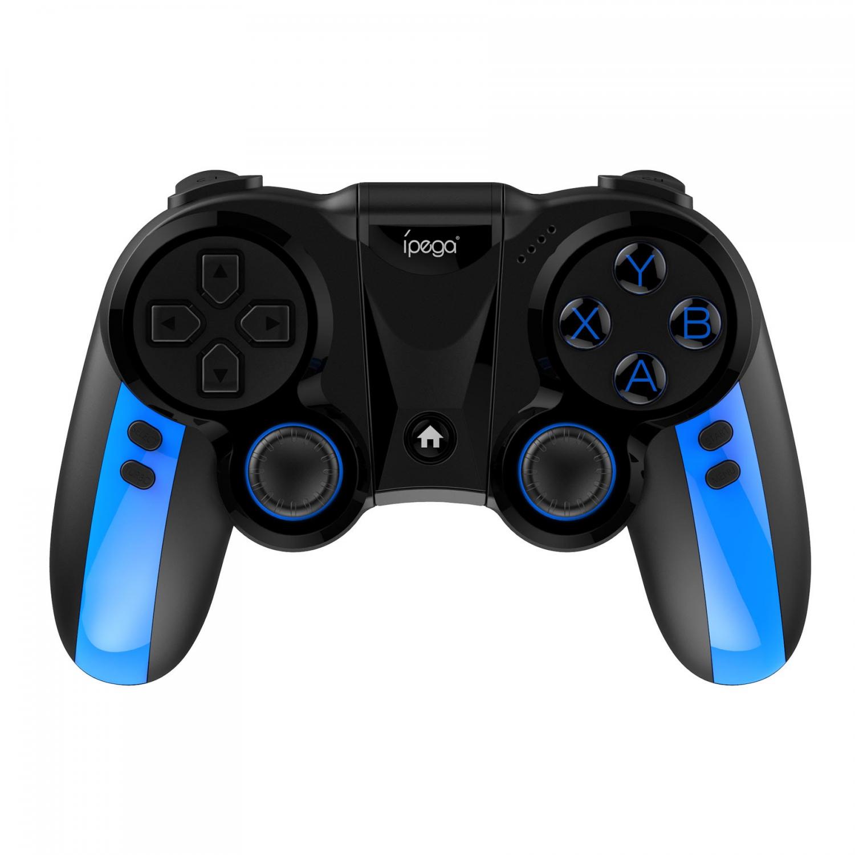 Bezdrátový gamepad iPega 9090 2.4Ghz & Bluetooth černá/modrá