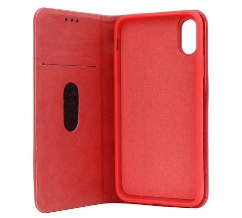 "Forcell SILK flipové pouzdro pro Apple iPhone XS Max 6.5"", červené"
