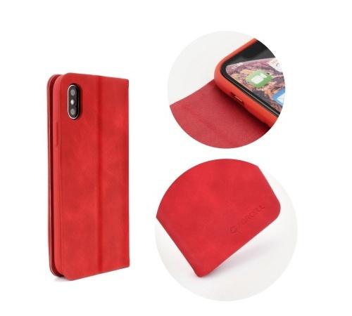 Forcell SILK flipové pouzdro pro Samsung Galaxy A7 2018, červené