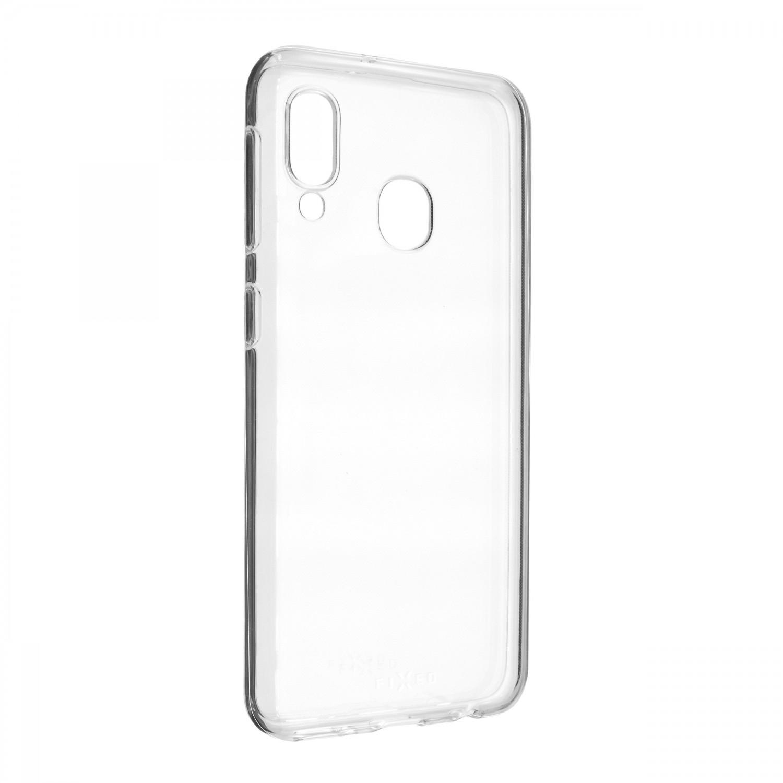 Ultratenké silikonové pouzdro FIXED Skin pro Samsung Galaxy A20e, transparentní