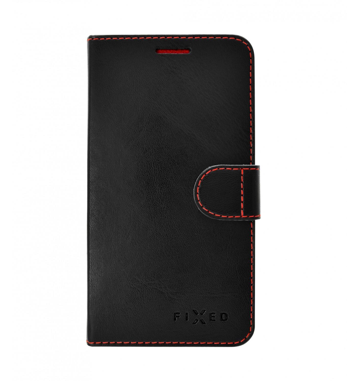 FIXED FIT flipové pouzdro pro Samsung Galaxy A70, černé