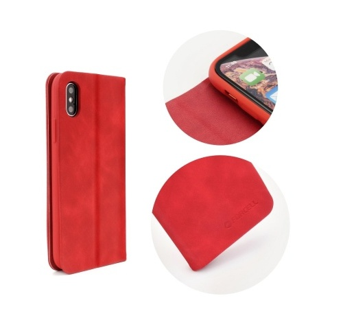 Pouzdro Forcell SILK pro Samsung Galaxy S9 (SM-G960) červená