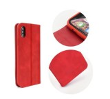 Pouzdro Forcell SILK pro Samsung Galaxy A6+ 2018 (SM-A605), červená