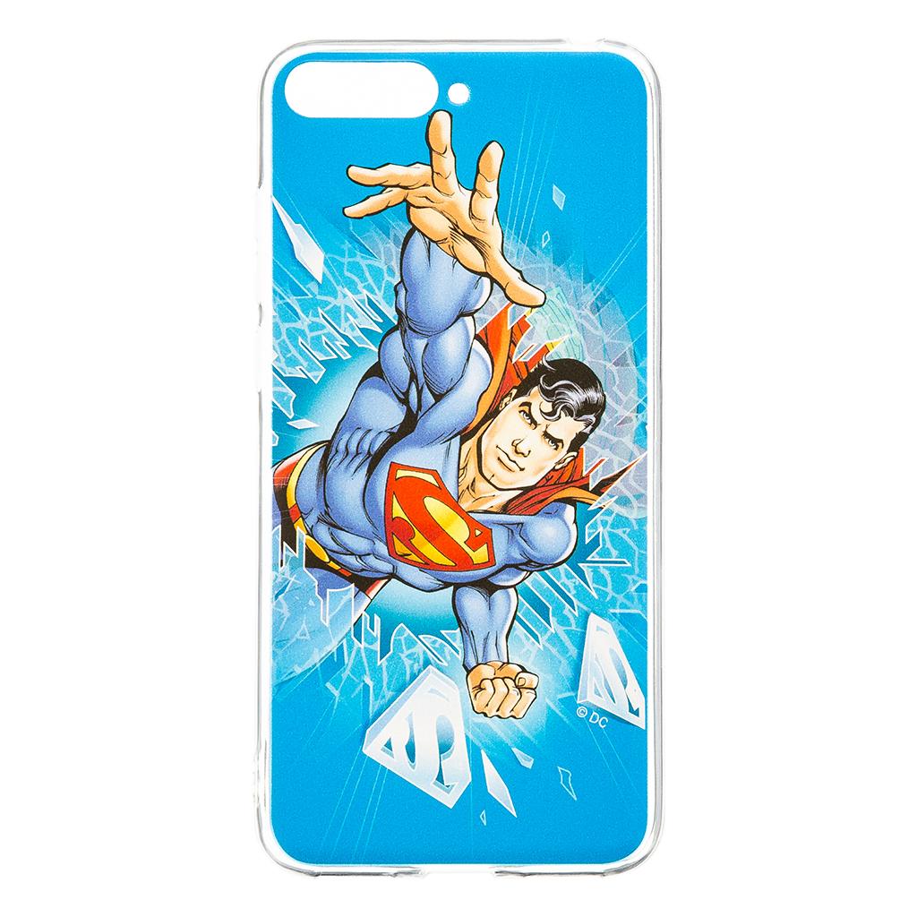 Zadní kryt Superman 005 pro Huawei Y6 2018, blue