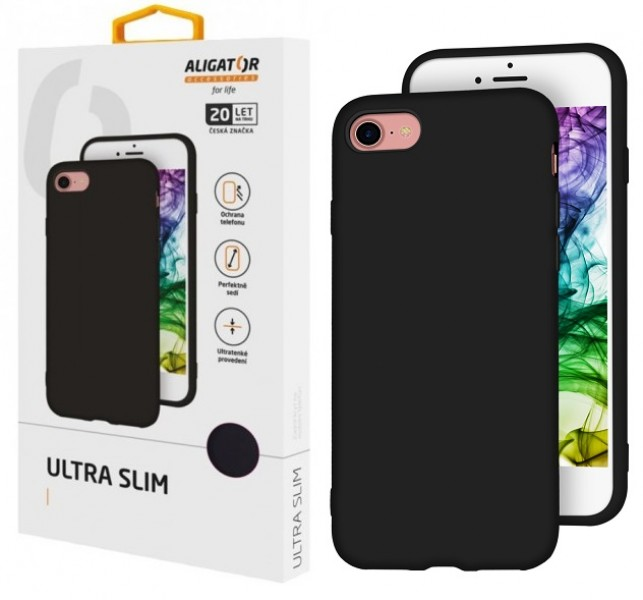 Silikonové pouzdro ALIGATOR Ultra Slim pro Xiaomi Redmi 7A, Black