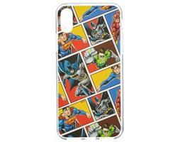 Zadní kryt DC League of Justice 001 pro Apple iPhone X, multicolor