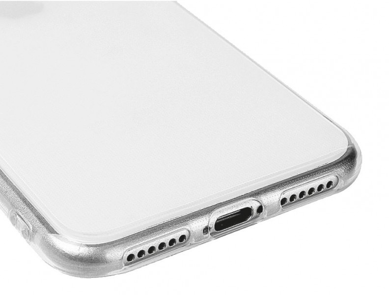Silikonové pouzdro TRANSPARENT ALIGATOR pro Samsung Galaxy A70