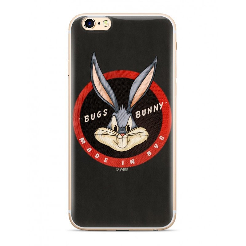 Zadní kryt Warner Bros Bugs 006 pro Apple iPhone X, black