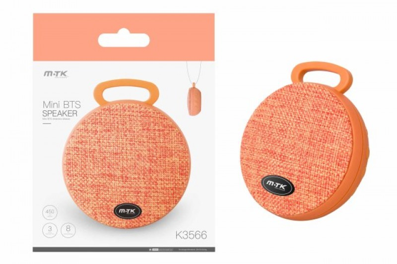 Bluetooth Mini Speaker PLUS (K3566), orange