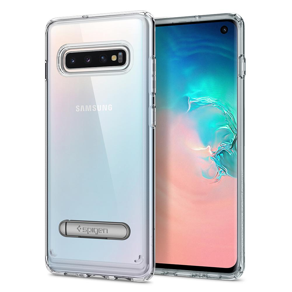 Kryt Spigen Ultra Hybrid S pro Samsung Galaxy S10, transparentní