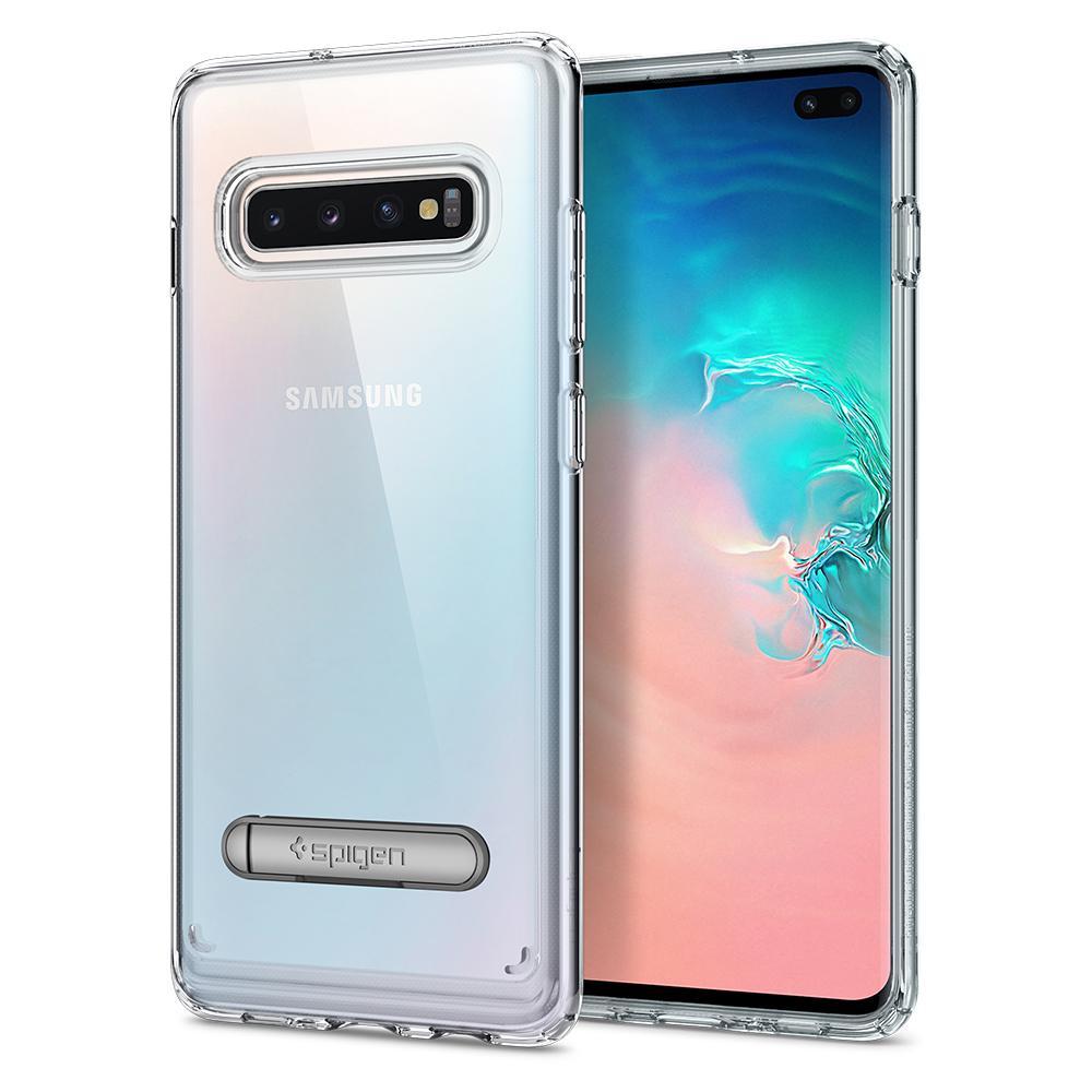 Kryt Spigen Ultra Hybrid S pro Samsung Galaxy S10 Plus, transparentní