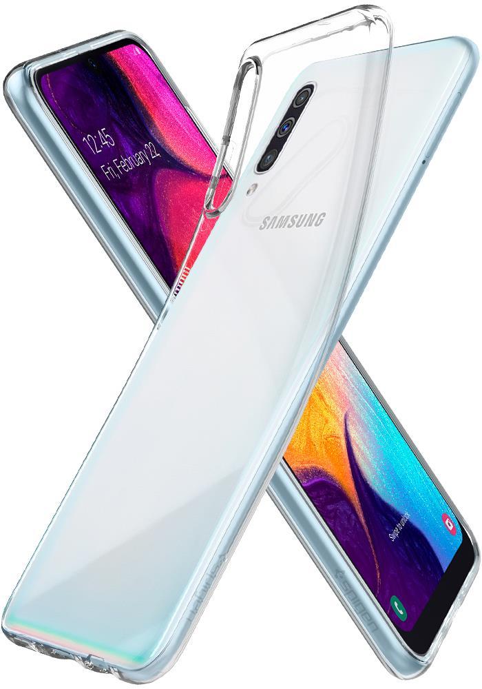 Ochranný kryt Spigen Liquid Crystal pro Samsung Galaxy A50, transparentní