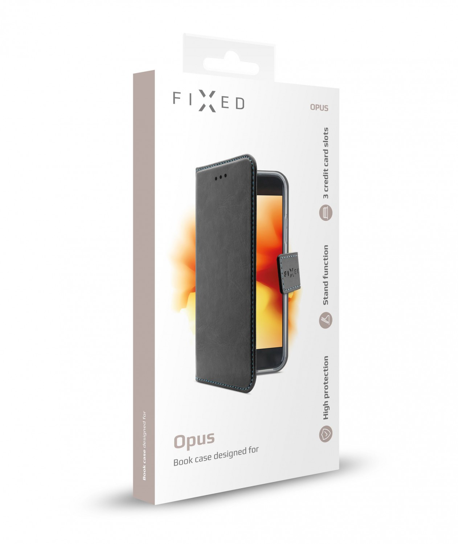 Pouzdro typu kniha FIXED Opus pro Honor 20 Lite, černé