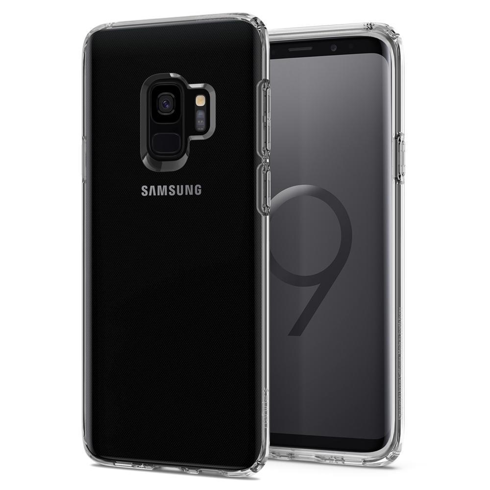 Ochranný kryt Spigen Liquid Crystal pro Samsung Galaxy S9, transparentní