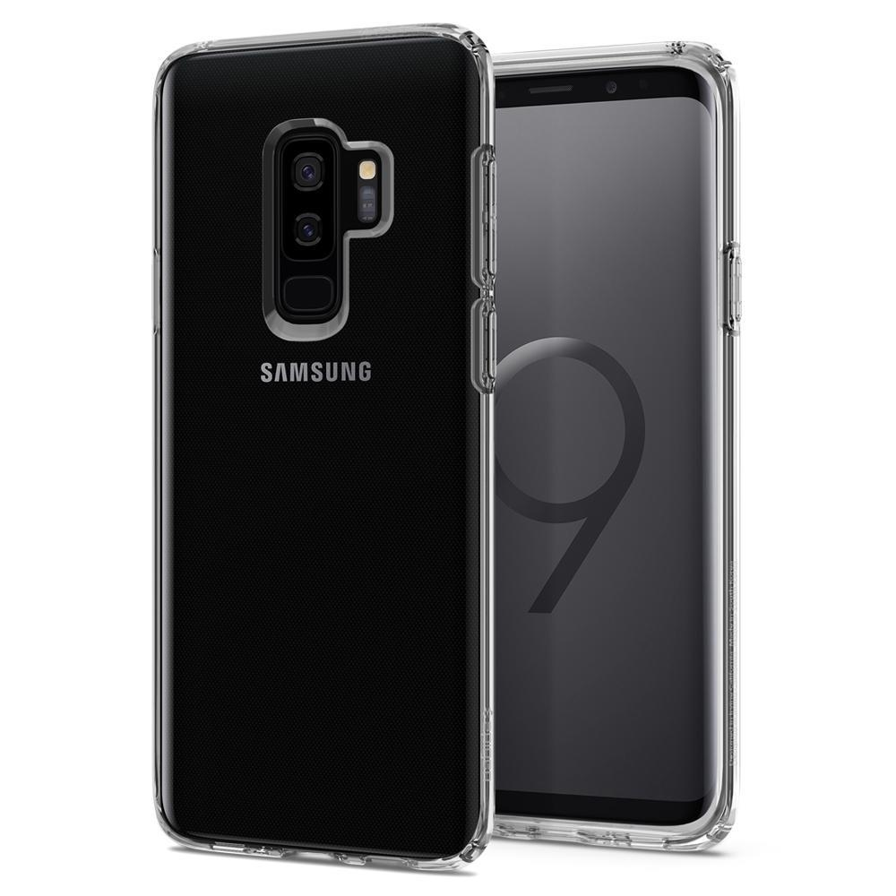 Ochranný kryt Spigen Liquid Crystal pro Samsung Galaxy S9 plus, transparentní