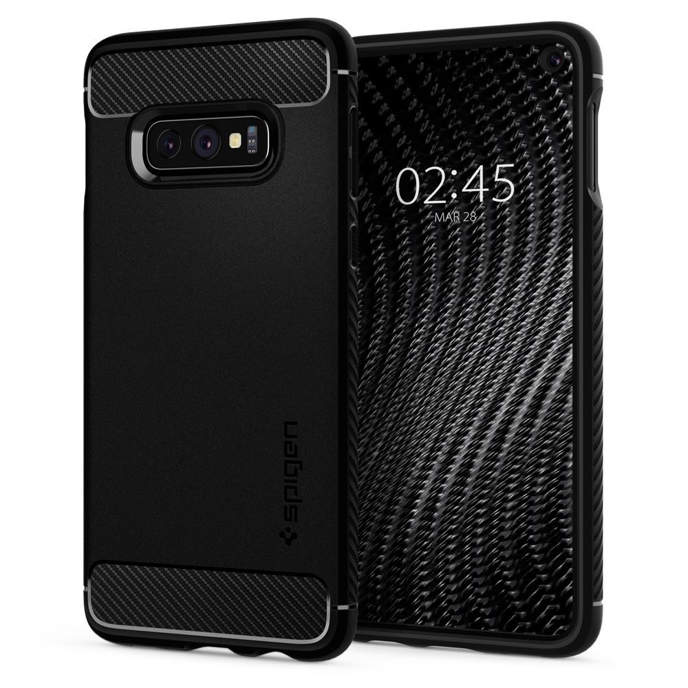 Ochranný kryt Spigen Rugged Armor pro Samsung Galaxy S10e, černý